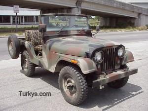 75 Jeep CJ5 Camo